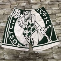 Boston Celtics M&N Big Face Shorts
