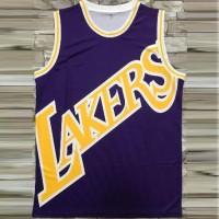 Los Angeles Lakers Purple M&N Big Face Jersey