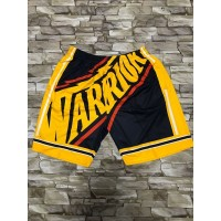 Golden State Warriors M&N Big Face Navy Blue Shorts