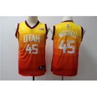 Donovan Mitchell Utah Jazz 2019 City Edition Kids/Youth Jersey