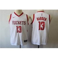James Harden Houston Rockets White Kids/Youth Jersey