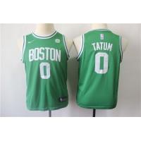 Jayson Tatum Boston Celtics Green Kids/Youth Jersey