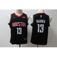 James Harden Houston Rockets Black Kids/Youth Jersey
