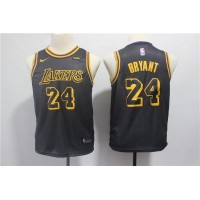 *Kobe Bryant Los Angeles Lakers 2018 City Edition Kids/Youth Jersey