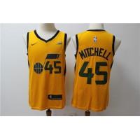 Donovan Mitchell Utah Jazz Yellow Kids/Youth Jersey