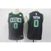 Jayson Tatum Boston Celtics Black Kids/Youth Jersey