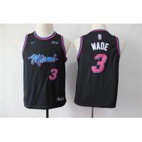 Dwyane Wade Miami Heat 2019 City Edition Kids/Youth Jersey