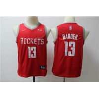 James Harden Houston Rockets Red Kids/Youth Jersey