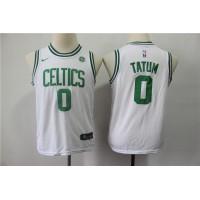 Jayson Tatum Boston Celtics White Kids/Youth Jersey