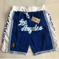 Los Angeles Lakers Classic Blue JUST DON Shorts