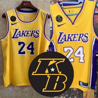 **KB Memorial Patch Kobe Bryant Los Angeles Lakers Jerseys**