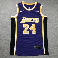 Kobe Bryant #24 Los Angeles Lakers 2019 Purple Jersey with KB Patch