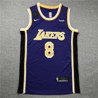 Kobe Bryant #8 Los Angeles Lakers 2019 Purple Jersey with KB Patch