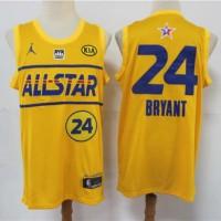 Kobe Bryant 2021 All Star Game Team LeBron Jersey