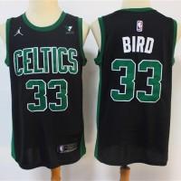Larry Bird Boston Celtics 2020-21 Statement Black Jersey