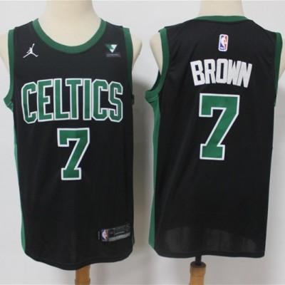 Jaylen Brown Boston Celtics 2020-21 Statement Black Jersey