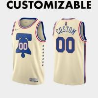 *Philadelphia 76ers 2020-21 Earned Edition Customizable Jersey