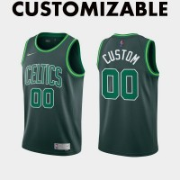 *Boston Celtics 2020-21 Earned Edition Customizable Jersey