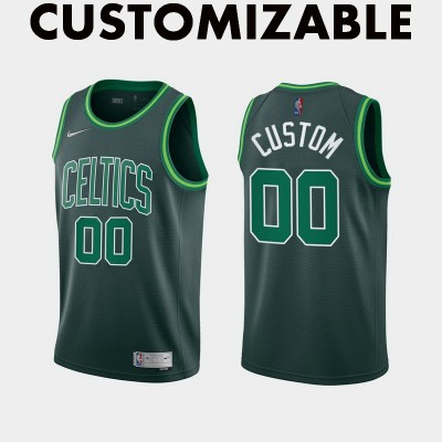 *Boston Celtics 2020-21 Earned Edition Customizable Jersey