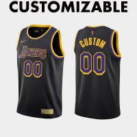 *Los Angeles Lakers 2020-21 Earned Edition Customizable Jersey