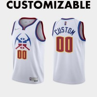 *Denver Nuggets 2020-21 Earned Edition Customizable Jersey