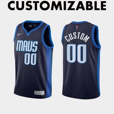 *Dallas Mavericks 2020-21 Earned Edition Customizable Jersey