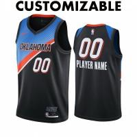 *Oklahoma City Thunder 2020-21 City Edition Customizable Jersey