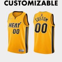 *Miami Heat 2020-21 Earned Edition Customizable Jersey