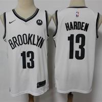 *James Harden Brooklyn Nets 2020-21 White Jersey