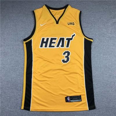 *Dywane Wade Miami Heat 2020-21 Earned Edition Jersey