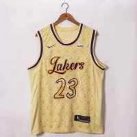 *LeBron James Los Angeles Lakers 2020-21 Showtime Edition Jersey