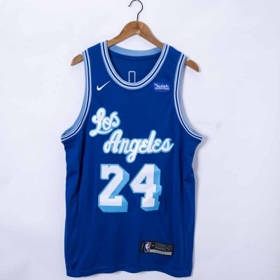 *Kobe Bryant Los Angeles Lakers 2020-21 Classic Edition Blue Jersey