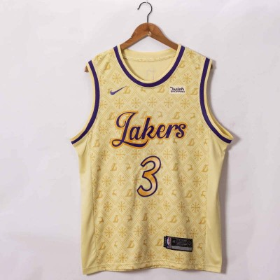 *Anthony Davis Los Angeles Lakers 2020-21 Showtime Edition Jersey