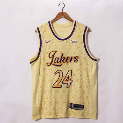 *Kobe Bryant Los Angeles Lakers 2020-21 Showtime Edition Jersey