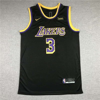*Anthony Davis Los Angeles Lakers 2020-21 Earned Edition Jersey