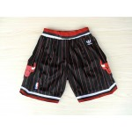 Bulls Black with Red Pinstripes