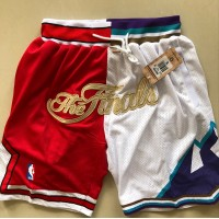 Chicago Bulls/Utah Jazz Finals Limited Edition JUST DON Shorts (See Pricing)