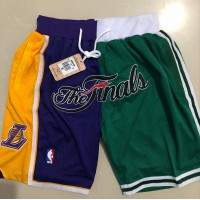 Lakers/Celtics Finals Limited Edition JUST DON Shorts