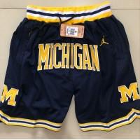 Michigan Wolverines Navy Blue JUST DON Shorts