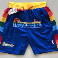 Denver Nuggets Blue JUST DON Shorts