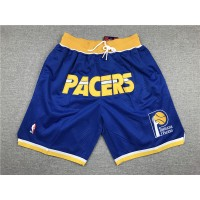 Indiana Pacers Blue JUST DON Shorts