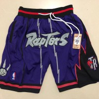 Toronto Raptors Purple JUST DON Shorts