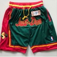 Seattle Supersonics Green JUST DON Shorts