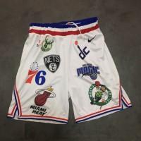 Supreme X Nike X NBA White Shorts