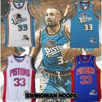 Grant Hill Detroit Pistons Jerseys