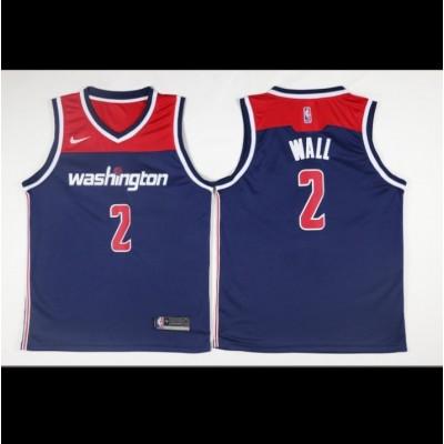 John Wall Washington Wizards Blue Jersey