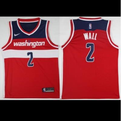 John Wall Washington Wizards Red Jersey