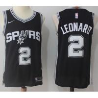 Kawhi Leonard San Antonio Spurs Black Jersey