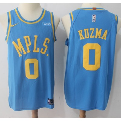 new products 49cbc df2ce Kyle Kuzma Los Angeles Lakers MPLS Jersey