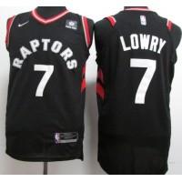 Kyle Lowry Toronto Raptors Black Jersey